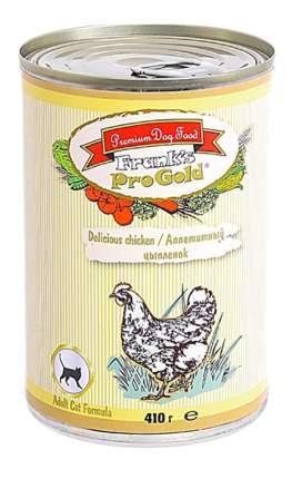 Консервы для кошек Frank's ProGold, аппетитный цыпленок, 410г
