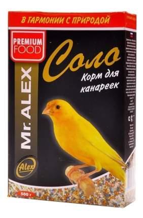 Основной корм Mr.Alex для канареек 500 г, 1 шт