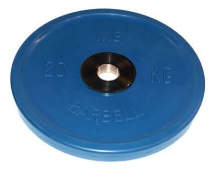 Диск для штанги олимпийский MB Barbell Евро-Классик 20 кг, 51 мм