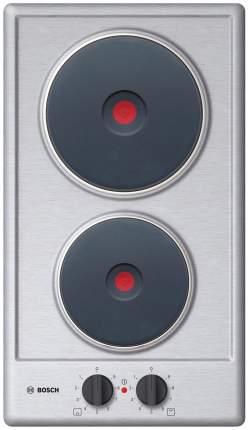 Встраиваемая варочная панель электрическая Bosch PEE389CF1 Grey