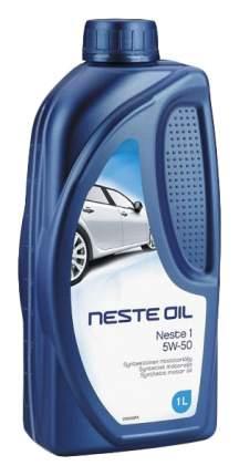 Моторное масло Neste Oil 1 5W-50 1л