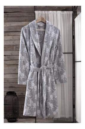 Халат банный Arya Paula светло-серый (M)