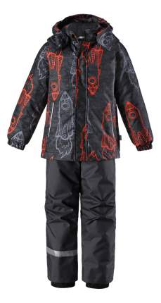 Комплект верхней одежды Lassie, цв. черный; красный р. 92