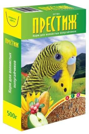 Основной корм Футон-Престиж для волнистых попугаев 500 г, 1 шт