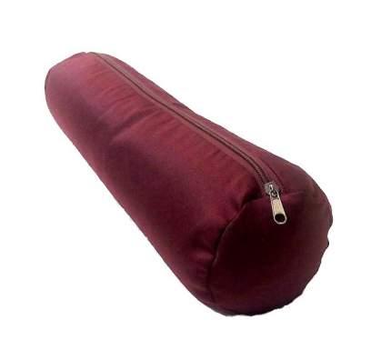 Валик для йоги RamaYoga 699220, красный
