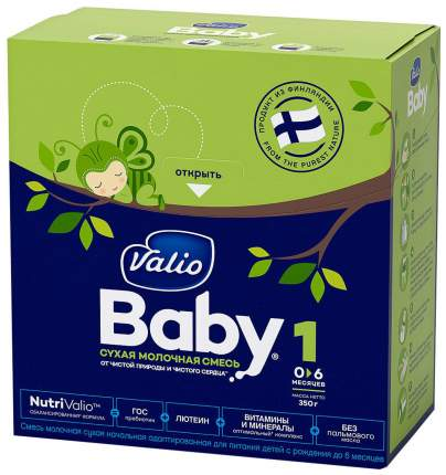Молочная смесь 1 (от 0 до 6 мес.) Valio Baby 350 г