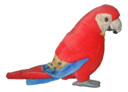 Мягкая игрушка Hansa Попугай Ара 20 см Красный Синтепон 3741
