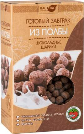 Готовый завтрак из полбы Вастэко шоколадные шарики 200 г
