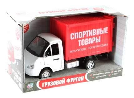 Инерционный Грузовой фургон Спортивные товары Play Smart 1:27 В22477