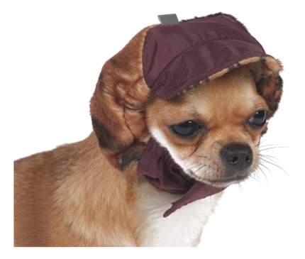 Шапка для собак ТУЗИК №0 теплая с велюром (плащевка,велюр,флис)
