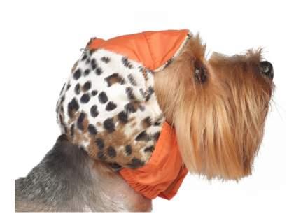 Шапка для собак ТУЗИК №2 теплая с велюром, плащевка, велюр, флис