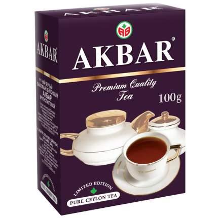 Чай черный Akbar классический крупнолистовой 100 г