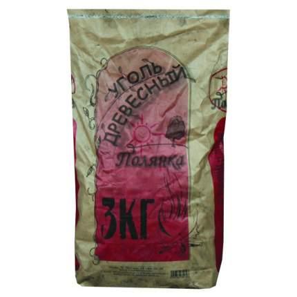 Уголь древесный мешок 3 кг