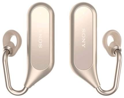 Беспроводные наушники Sony XEA20 Gold