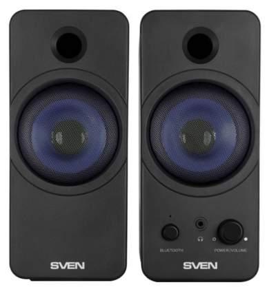 Компьютерная акустическая система SVEN SPS-431, Черный, 6 Вт, питание USB, Bluetooth