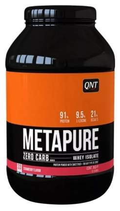 Протеин QNT Metapure Zero Carb 1000 г Strawberry
