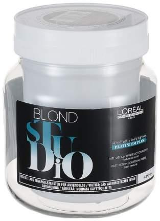 Осветлитель для волос L'Oreal Professionnel Blond Studio Platinium Plus 500 г