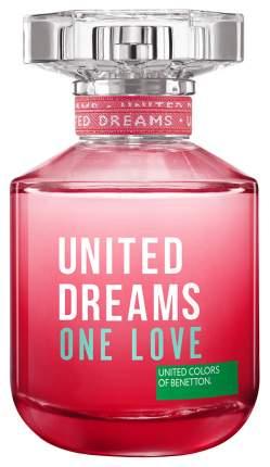 Туалетная вода Benetton United Dreams One Love 80 мл