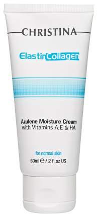 Крем для лица Christina Elastin Collagen Azulene Moisture Cream 60 мл