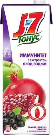 Нектар яблоко-гранат-арония J7 тонус иммунитет с экстрактом ягод годжи 1.45 л