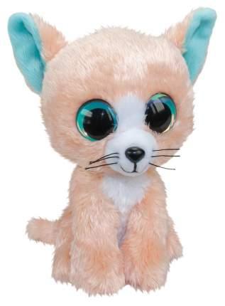 Мягкая игрушка Tactic Котёнок Peach, светло-розовый, 15 см