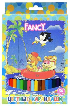 Карандаши цветные ACTION! FANCY 36 цветов