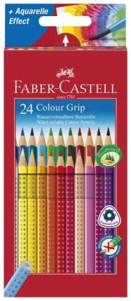 Карандаши цветные Faber-Castell Grip 24 шт.