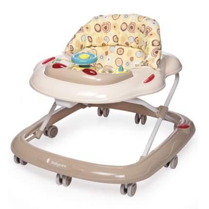 Ходунки детские Baby Care Pilot бежевые