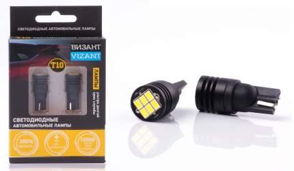 Светодиодные лампы Vizant с обманкой цоколь T10/5W5  660lm 5000k (B342)