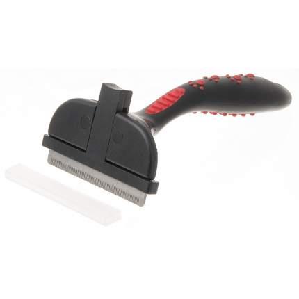 Дешеддер Hello Pet самоочищающийся с кнопкой, большой, 79 зубьев