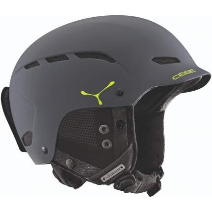 Горнолыжный шлем мужской Cebe Dusk 2019, черный, XS