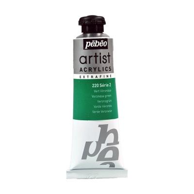 Акриловая краска Pebeo Artist Acrylics extra fine №2 зеленый веронезе 37 мл