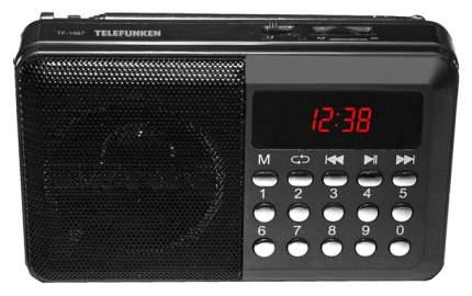 Радиоприемник Telefunken TF-1667 Black