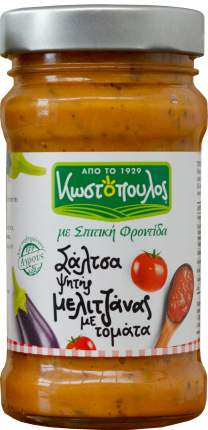 Закуска Kostopoulos из запеченых в оливковом масле греческих баклажан с томатами 300 г