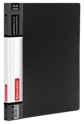 Папка-скоросшиватель Brauberg Contract 221781 Черная