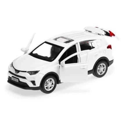 Машина инерционная Технопарк TOYOTA RAV4 металлическая 12 см