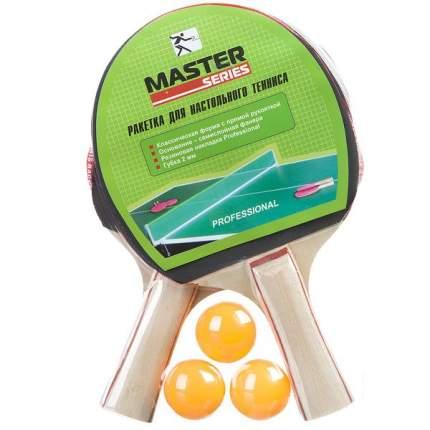 Набор пинг-понг, 2 ракетки,3 шара,PVC.