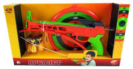 Арбалет Abtoys со снарядами на присосках 6 снарядов