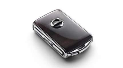 Брелок для ключа с дистанционным управлением Volvo 31659816 дерево Dark Flame Birch