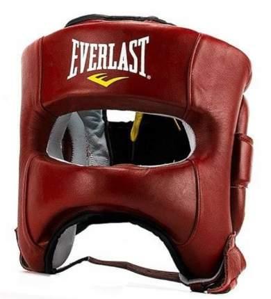 Шлем боксерский Everlast Elite Leather, L-XL, нат. кожа