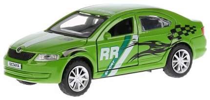 Инерционная машинка Технопарк Scoda Octavia Спорт Зеленый