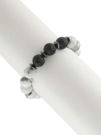 Браслет женский My-bijou 303-1471 белый/черный/серый