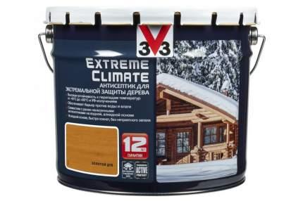 Антисептик для экстремальной защиты V33 Extreme Climate 2.5 л, Цвет золотой дуб