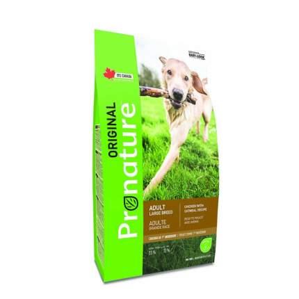 Сухой корм для собак Pronature Original Adult, овес, курица, 20кг