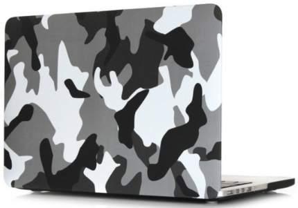 Чехол-накладка i-Blason Transparent Hard Shell Case для MacBook Pro 13 Retina (Khaki/Grey)