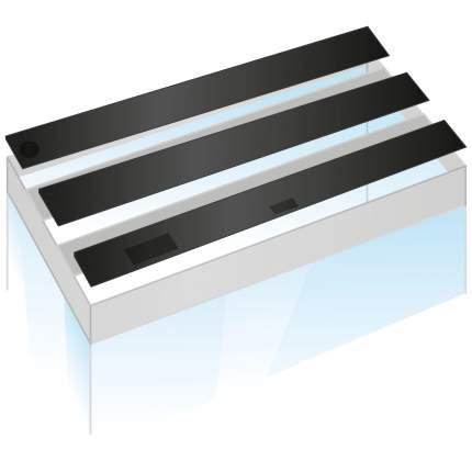 Комплект пластиковых крышек Juwel для аквариума Rio 300, черные, 120x50 см, 3шт