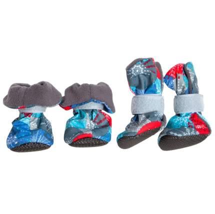 Ботинки для собак OSSO Fashion EVA, на флисе, для мелких собак, размер S