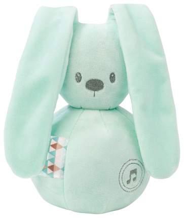 Игрушка мягкая Nattou Musical Soft toy Lapidou Кролик mint