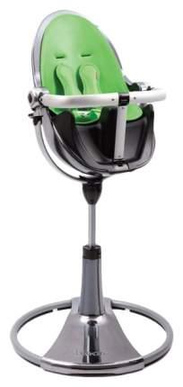 Стульчик для кормления BLOOM Fresco chrome SE графит, вкладыш зеленый