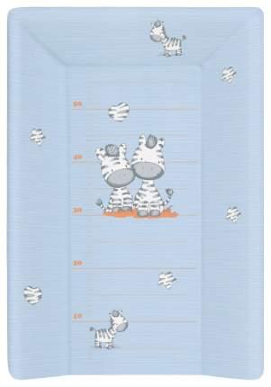 Матрац пеленальный Ceba Baby Zebra blue W-201-002-160